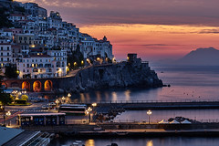 Not Waiting for Sunrise (AgarwalArun) Tags: sony a7m2 sonyilce7m2 landscape scenic nature views amalfi amalficoast italy europe costieraamalfitana unescoworldheritage bayofnaples salerno sunrise dawn