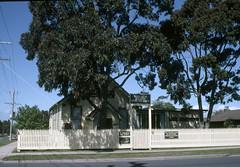 9 Grant Rd, Somerville (Graeme Butler) Tags: architecture gardens heritage history holidayhouses landscape trees water morningtonpeninsula victoria australia