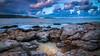 Ones in a dramatic Sky (Vee | Exposed) Tags: landscape sunset veeexposed formation fall orange sea morning blue winter longexposure cloud sunrise talgħażżenin malta seascape clouds mediterranian sky rocks