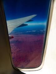 Fly Me to the Moon (Steve Taylor (Photography)) Tags: wing window australia shadow sunny sunshine plane aeroplane aircraft