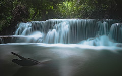 flowing (Flutechill) Tags: kanchanaburi thailand huaymaekhaminwaterfall waterfall nature river forest water tropicalrainforest stream tree scenics beautyinnature falling outdoors freshness landscape greencolor flowingwater purity rockobject leaf