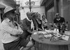 marsala in Marsala (grannie annie taggs) Tags: marsala drink group people italy bw