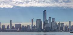 Manhattan downtown from Jersey City