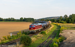 132 158 bei Caaschwitz (Emotion-Train) Tags: caaschwitz gera kesselzug 232158 leg