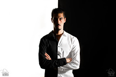 auto portrait noir et blanc ('^_^ Damail Nobre ^_^') Tags: