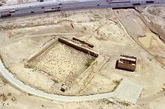Qatrana Hajj Fort + Reservoir (APAAME) Tags: hadj haj hajj jadis2407025 limesarabicus295 megaj2685 qalatalqatrana qatranacastle scannedfromnegative قلعةالقطرانه aerialarchaeology aerialphotography middleeast airphoto archaeology ancienthistory