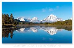 Giants (Luuk Belgers) Tags: grandtetons grandtetonnationalpark reflection snow peaks blue water landscapephotography naturephotography wyoming usa