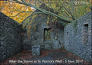 St Patks Well Church, 5.11.17, Co. Tipperary.  After the storm!