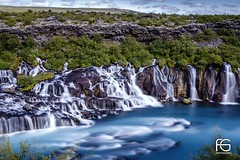 Blue waterfall (Fabien Georget (fg photographe)) Tags: iceland bluewaterfall waterfall lavastream waterfallicelandic cascade islande water rocks longexposure landscape paysage sky ayezloeil beautifulearth bigfave canoneos600d canon elitephotography elmundopormontera eos fabiengeorget fabien fgphotographe flickr flickrdepot flickrunited georget geotagged flickunited longue mordudephoto nature paysages perfectphotograph perfectpictures wondersofnature wonders supershot supershotaward theworldthroughmyeyes shot poselongue photography photo greatphotographer french skogar bluehour granit sunset slowshutter blue hour heure bleue eau waterscape