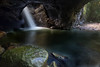 Natural Bridge (RoosterMan64) Tags: landscape longexposure naturalbridge springbrooknationalpark wader waterflow waterfall