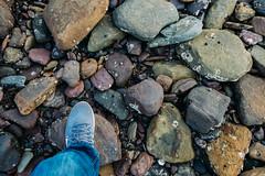 One Small Step (haoguoju) Tags: landscape australia nsw newsouthwales sydney winter outdoor a7m2 a7 sony sonya7markii sonyilce7m2 fe bushwalking hiking mountain fe1635mmf4zaoss 1635mmf4 1635mm f4 coastalwalk zeiss zeiss1635mmf4 longreefpoint longreefpointlookout sea variotessar vario tessar ocean cliff grass longreefpointwalk golfcourse sunset blue green seascape grey step nike lunarglide variotessartfe41635