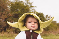 Will - 9.5 Months Old (Katherine Ridgley) Tags: toronto poncho ponchie baby babyboy babyfashion starwars yoda family child infant costume