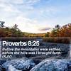 Daily Bible Verse - Proverbs 8:25 (daily-bible-verse) Tags: god success screensavers christian sky keepfaith goodmorningimages