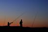 a pesca (luporosso) Tags: tramonto sunset colors colori silhouette siluetas nikon imdifferent nikonitalia nikonclubit