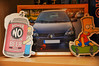 """Day 326/365 - """"On the shelf"""" (Little_squirrel) Tags: 365the2017edition 3652017 day326365 22nov17 ontheshelf shelf photo memories family firstcar simpsons friend trust miss airfresheners important clio goodbye sad remembrance goodolddays"""