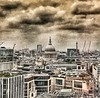 A hurricane (Ophelia) bears-down on London Town, England. (Fotofricassee) Tags: hurricaneophelia hurricane sahara financialdistrict london cathedral stpaul's