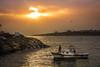 Back to Port / Limana Dönüş (Kalem ve Mum) Tags: sunset sandal kayık günbatımı sky gökyüzü yellow sarı bosphorus boğaz istanbul turkey türkiye