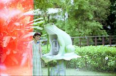 girl in taipei (eripope) Tags: film nikon taipei taiwan green girl