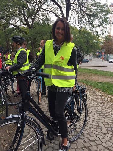 Semaine de la Mobilité: A vélo au Parlement de Wallonie