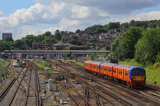 456001 & 456004, Guildford, July 14th 2016