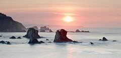 Arrecifes ☀️🌊(explore 237) (pascual 53) Tags: 50mm ocaso largaexpo rocas silencio asturias 5ds canon mar