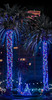 christmas fountain court (pbo31) Tags: bayarea california night dark black color nikon d810 december 2017 boury pbo31 city urban sanfrancisco nobhill hotel room fairmont vertical fountain purple palms court panoramic large stitched panorama holidays season christmas lights window tree