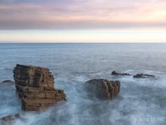 despertant al vent... (Encarna Minet) Tags: donosti peinedelosvientos roques rocs amanecer alba euskadi