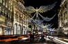 Christmas lights in Regent Street (Koupal D) Tags: regentstreet london christmaslights lights building carlights cars longexposure manfrotto tripod nikond610 nikon2470mmf28 nikkor nikon nightshot nightphotography traffictrails londra londres لندن lightstreaks