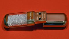 my glittering USB stick! (karinrogmann) Tags: macromondays december11 stick usbstick