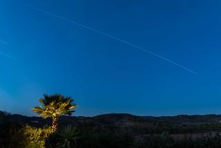 International Space Station (ISS) Above The Algarve Serra