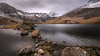 As the wind blows....Llyn Llydaw. Snowdonia. (Einir Wyn Leigh) Tags: landscape lake snow mountains snowdon colorful winter december light reflection cloudy rugged stones rocks wales cymru uk