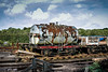 waggon (1 of 1) (steamnut777) Tags: wagon westsomersetrailway oldstock somerset esso silver rust 18222 clouds