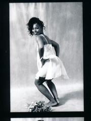 Lace Philadelphia Studio Photo Shoot Kodak TMY 35mm B&W Contact Sheet Proof Print Aug 1994 IMG_0035 (photographer695) Tags: lace philadelphia studio photo shoot kodak tmy 35mm bw contact sheet proof print aug 1994