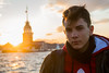 Joel (alejo.365shoots) Tags: portrait face boy man sky clouds sea sun sunset istanbul