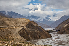 Mustang #7 (DmitryK68) Tags: mustang uppermustang mountains mountain nepal cloud clouds sky
