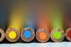 rounded colors (le cabri) Tags: coloredpencil macro crayon drawing abstract art artandcraft artist closeup colorimage colors craft creativity equipment multicolored pencil pencildrawing preschool rainbow shallowdof dof shallow selectivefocus spectrum variation worktool