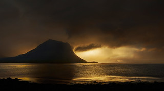 eveninglight over Grundarfjördur