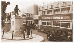 Armistice Day (kingsway john) Tags: armistice day poppy poppies memorial war tram oogauge london transport model diorama cenotaph layout 176 scale miniature