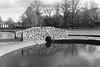 Reflection,Gilcolmston Burn,Westburn Park,Aberdeen_nov 17_251 (Alan Longmuir.) Tags: monochrome grampian aberdeen westburnroad westburnpark gilcolmstonburn lowsun reflection