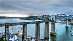 Brunels Bridge (PAUL YORKE-DUNNE) Tags: brunel bridge saltash river tamar railway