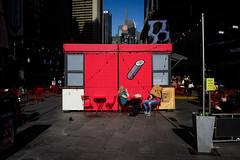 flying sushi burrito (zlandr) Tags: nyc candid leicaq chrisfarling zlandr manhattan midtown street newyork newyorkcity city urban