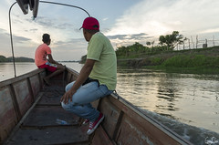 Ballade en barge sur le rio Magdalena (Rosca75) Tags: colombia colombie people lifestylephotography mompox mompós boat rio river riomagdalena