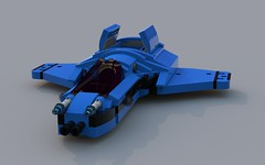 XSI-98A Concept Starfighter (jaxfam70) Tags: lego space starfighter