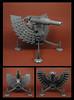 Baroque Canon (Karf Oohlu) Tags: lego moc canon gun artillery baroque