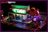 "NERDVEMBER 2017 - ARCADE (""Orion Pax"") Tags: nervember 80s bricknerd transformers art popart driveradiobe arcade lamborgini countach lego strangerthings et laststarfighter spacepolice rad red neonlights"