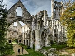 Abbaye de Jumièges (PA ARSE) Tags: kloster ruine abbaye de jumièges