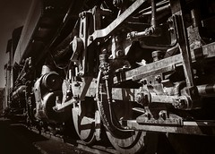 Clover Valley No 4 running Rods No 2 (CDay DaytimeStudios w/1,000,000 views) Tags: california fall fallcolor fremontca nilecanyon nilesca nilescanyonrailroad nilesrailroad railequipment railsystems railroad railroadtracks sanfranciscobayarea trainengine