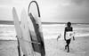 Sri Lanka 2017, Street Study 266 (1nspired.artist) Tags: srilanka street olympus35rc bw blackandwhite inspiredartist rodinal orangefilter epsonv500 35mm film beach surfer fujineopanacros acros iso400 pushed fuji