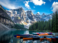 ROCKIES (Dave GRR) Tags: rocky rockies alberta lake moraine landscape nature mauntains