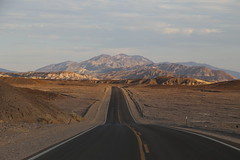 Death Valley, CA, USA (cpbs1965) Tags: deathvalley badlands california mountain rock landscape sunset road desollate sky